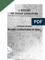 A History of Indian Literature Part of Vol VII Islamic Literatures of India - J Gonda