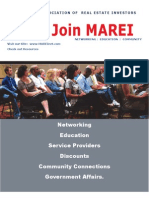 Find out more about MAREI - Benefits and Membership Fees
