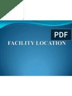 Facility Location Semifinal