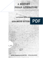 A History of Indian Literature Vol IX Fasc. 2 Assamese Literature - J Gonda