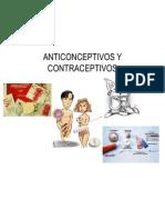 Anticonceptivos y Contraceptivos