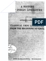 A History of Indian Literature Vol VIII Fasc. 3 Classical Urdu Literature From the Beginning to Iqbal - J Gonda