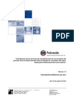 Informe 4 - Plan Maestro Del AICC