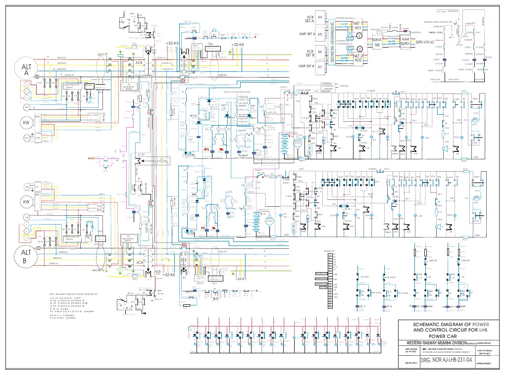 Indian Railway Lhb Coach Diagram Mod Lhb Power Car