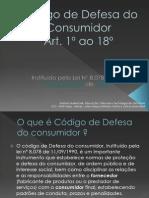 Código de Defesa do Consumidor slide