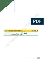 Manual Sistema de Autenticacao e Autorizacao -SAA- - Versao Preliminar (1)