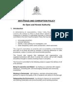 231 Anti Fraud Strategy