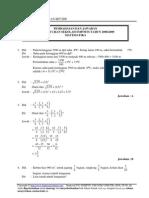 Kunci Pre Matematika Un Smp 2009