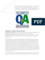 Interview Qa