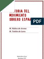 Historia Del Movimiento Obrero Espanol