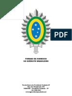 Formas Ingresso Exército Brasileiro.