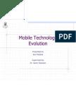 Mobile Technology Evolution