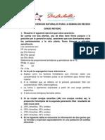 Plan Nivelacion Semana de Receso Ciencias Noveno