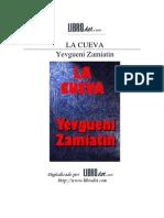 Zamiatin Yevgueni La Cueva