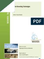 WAHARA Report 07 - WH Technologies