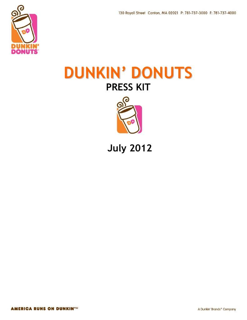 Dunkin Donuts Coffee Fast Food Restaurants