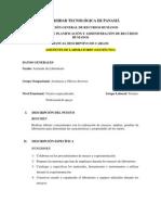 Perfil - Asistentes de Laboratorio (Geotécnia)