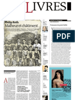 Supplément Le Monde des livres 2012.10.05