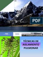 Tecnicas de Aislamiento Pulmonar 17-01-12