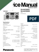 Panasonic Sa Ak230