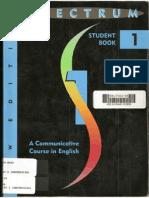Libro Spectrum Student Book 1 part