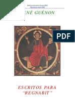 Guénon, René - Escritos para Regnabit