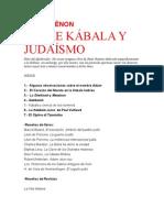 Guenon Sobre Kabala y Judaismo