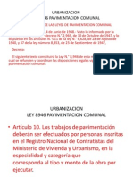 Fundamentos Ley Pavimentacion y Aguas LLuvias