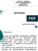 Aditivos Bromatología II (1)