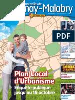 Les Nouvelles de Chatenay Octobre 2012