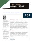 Innovation Watch Newsletter 11.20 - October 6, 2012