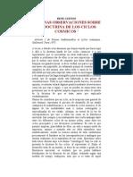 Guenon, Rene - La Doctrina de Los Ciclos Cosmicos