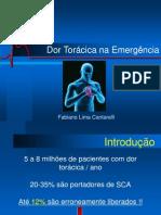 Dor Torácica - CURSO DE EMERGÊNCIAS CARDIOLÓGICAS – PROCAPE