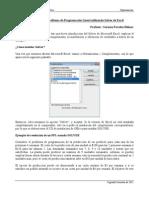Tutorial Solver Excel