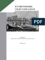 Documentos Concilio Vaticano Segundo