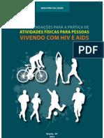 Aids Recomendacoes Para a Pratica de Atividades Fisicas Para Pessoas Vivendo Com Hiv e Aids