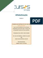 APOSTILA DE CURSO DE ALFABETIZAÇÃO -CEDIDO PELO GRUPO PAIXÃO DE EDUCAR