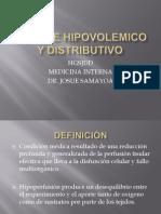 Choque Hipovolemico y Discributivo