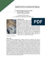 Caracterizacion Sedimentologica de Canteras de Piedra Laja en la Localidad de Yura