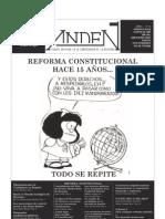 Andén 18 - Reforma Constitucional