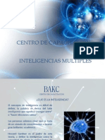 Bakc Presentacion Inteligencias Multiples
