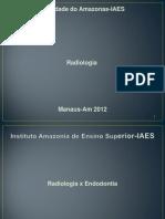 Radiologia X Endodontia