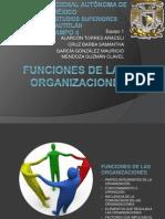 funcionesdelasorganizaciones-101009192128-phpapp01