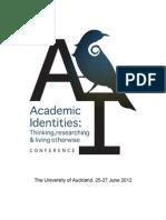 AIC2012 Programme Booklet