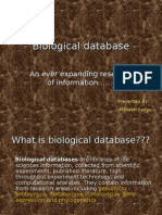 Biological Database