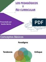 4.0 - Modelos Pedagógicos Y Diseños Curricular (Presentación)