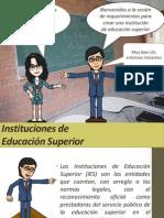 9.0 Requerimientos Creación Institución de Educación Superior