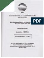 Soal Ujian AMG 2007-2008