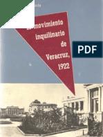 El Movimiento Inquilinario de Veracruz, 1922 - Octavio Garcia Mundo