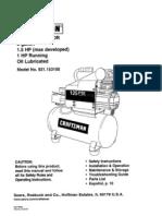 Craftman AiCo 15310 Compresor de Aire con aceite